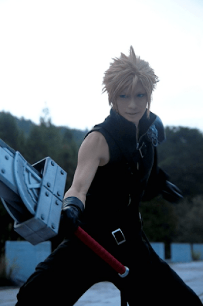 Kaname☆ - Cloud Strife Final Fantasy Cosplay