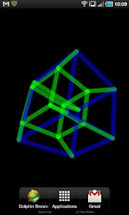 Download 4D Hypercube Live Wallpaper APK on PC | Download Android APK GAMES & APPS on PC