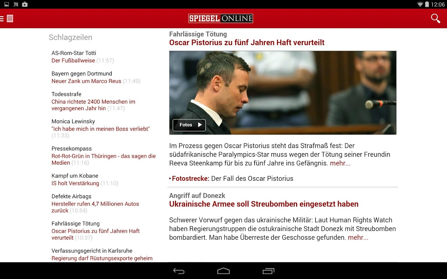 Spiegel Id Spiegel Online News Android Apps On Google Play
