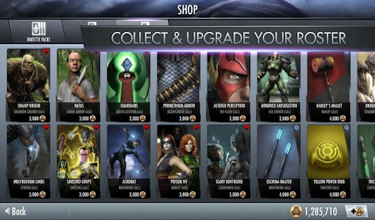 Injustice: Gods Among Us Mod (Unlimited Money) v1.1 APK