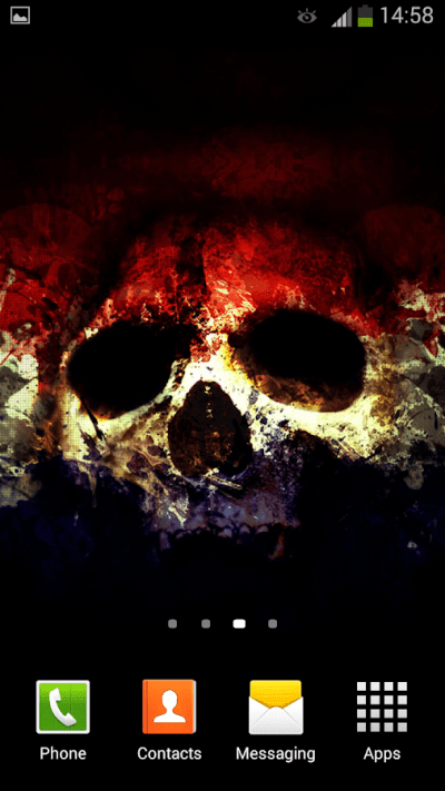 Skulls Live Wallpaper - Android Apps on Google Play