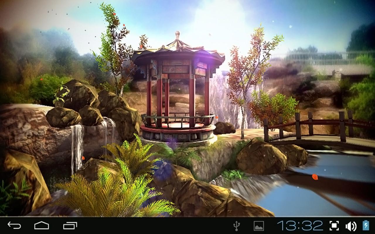 Water Falling Leaves Live Wallpaper Apk Oriental Garden 3d Pro Apk By Ruslan Sokolovsky Details
