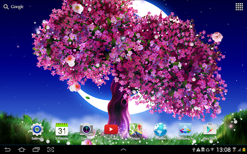 Sakura Falling Live Wallpaper Iphone Cherry Blossom Live Wallpaper For Pc Windows 7 8 10 And
