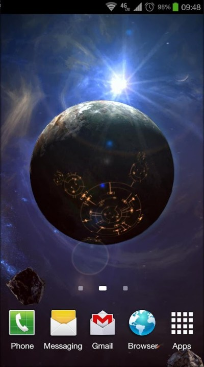 Space Symphony 3D Pro LWP - Android Apps on Google Play