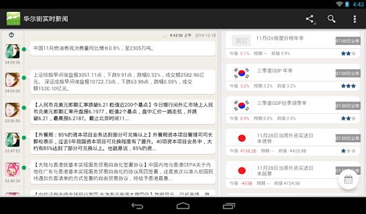 Google Calendar Add New Calendar Earnings Investor Calendar Wallstreet Breaking News Android Apps On Google Play
