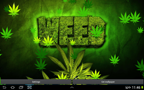 Falling Weed Live Wallpaper Download Weed Hd Wallpaper Android Appcrawlr