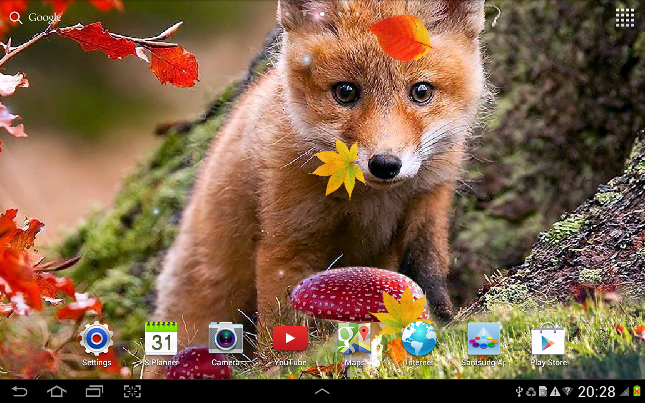 Falling Leaves Live Wallpaper Apps Android Autumn Live Wallpaper Android Apps On Google Play