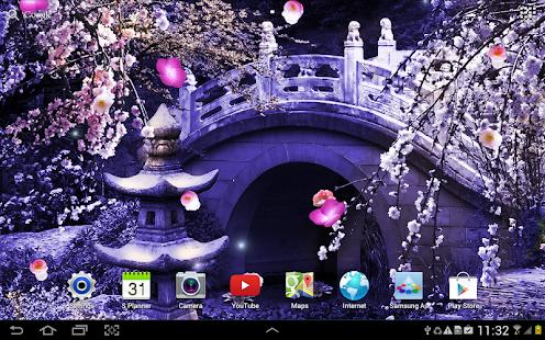 Sakura Falling Live Wallpaper Apk Download Mystic Sakura Live Wallpaper Apk On Pc Download
