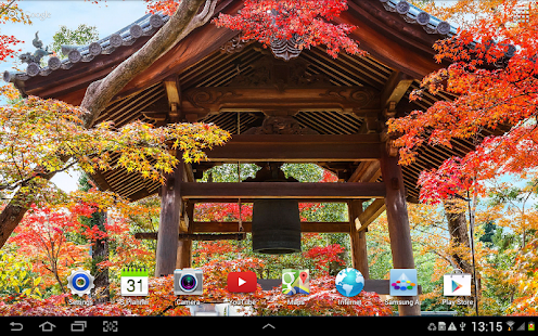 Falling Leaves Live Wallpaper Apps Android Zen Garden Live Wallpaper Android Apps On Google Play
