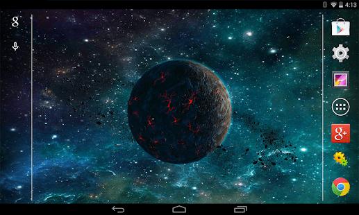 Asteroids 3d Live Wallpaper For Pc Download 3d Planet Free Live Wallpaper Apk To Pc