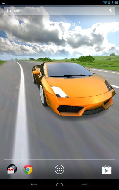 3D Car Live Wallpaper ~ Future For Smart Phones Group
