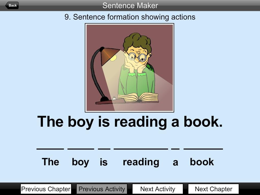 resume sentence maker
