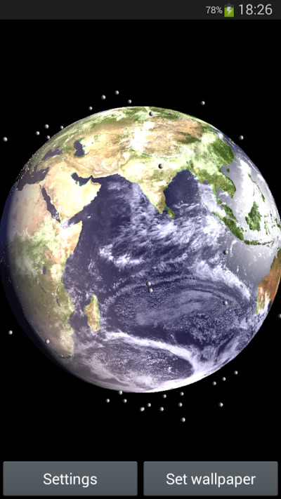 Earth Satellite Live Wallpaper - Android Apps on Google Play