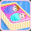 Newborn twins girls games APK