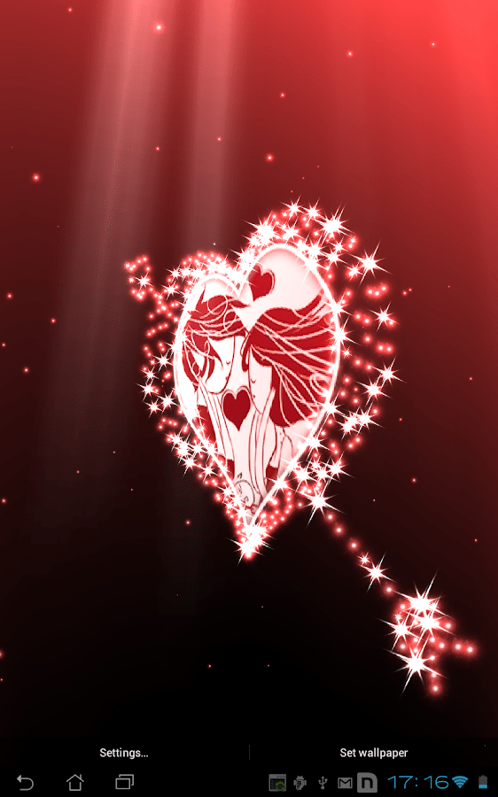 Sanjeev 3d Name Wallpaper Hearts Day Live Wallpaper Android Apps On Google Play