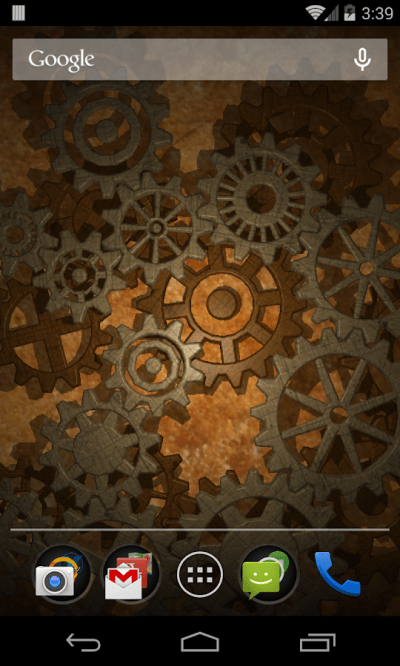 Gears 3D Live Wallpaper - Android Apps on Google Play