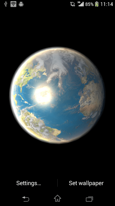 Earth Live Wallpaper - Android Apps on Google Play
