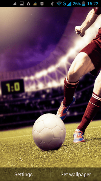 Football Live Wallpaper - Android Apps on Google Play