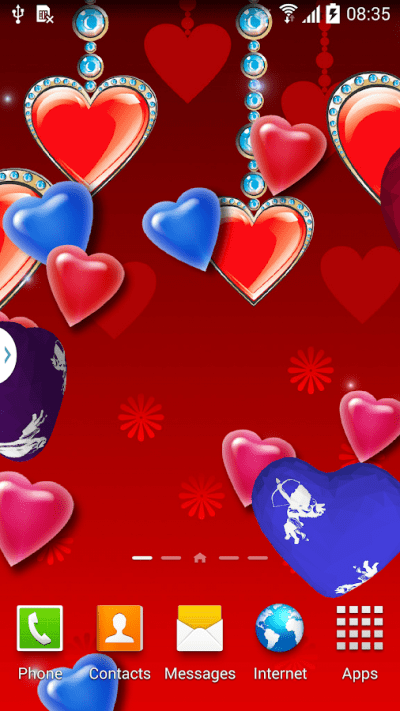 3D Hearts Live Wallpaper Free - Android Apps on Google Play