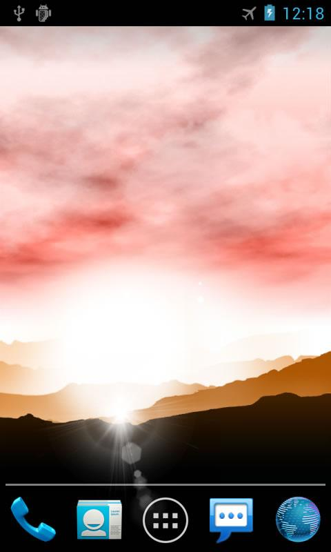 3d Parallax Weather Live Wallpaper For Android Os Sunrise Pro Live Wallpaper Android Apps On Google Play