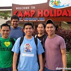 Hubby with officemates just experienced Camp Holiday