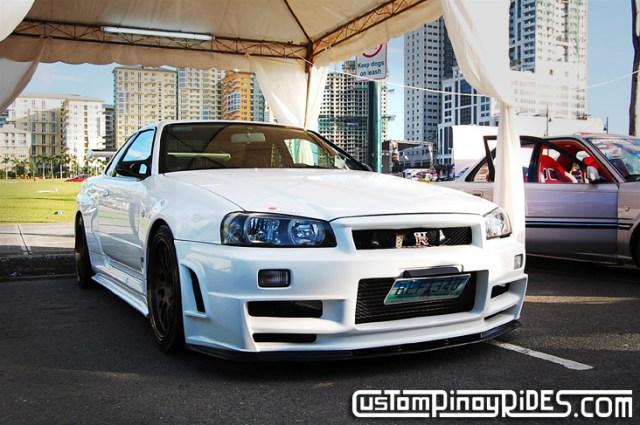 Nissan Skyline R34 GTR Tomato Garage CustomPinoyRides pic2
