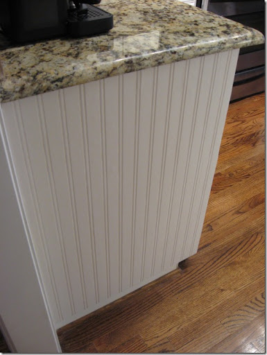 Kitchen Cabinet Stick On Wallpaper Southern Hospitality: Beadboard Wallpaper Project