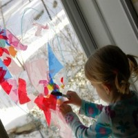 DIY Stained Glass Windows