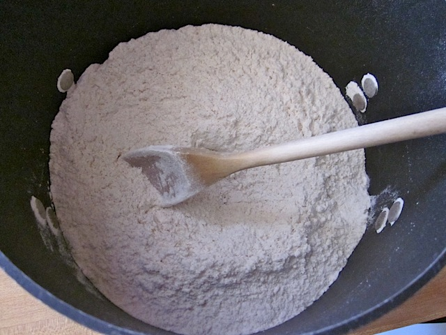 dry bread ingredients