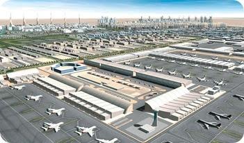 Islamic Bay The Modernization Of Islam Jebel Ali Airport City Al Maktoum International Airport