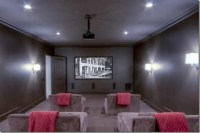 Media Rooms Paint Colors - Basement Ceiling Ideas