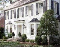 Things That Inspire: A classic: White house, black shutters