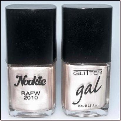 nookie glitter gal