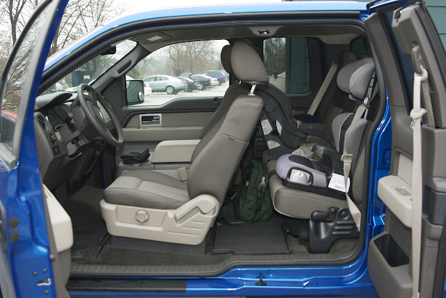 Rear Facing Car Seat More Legroom Supercab With Young Children Ford F150 Forum Community