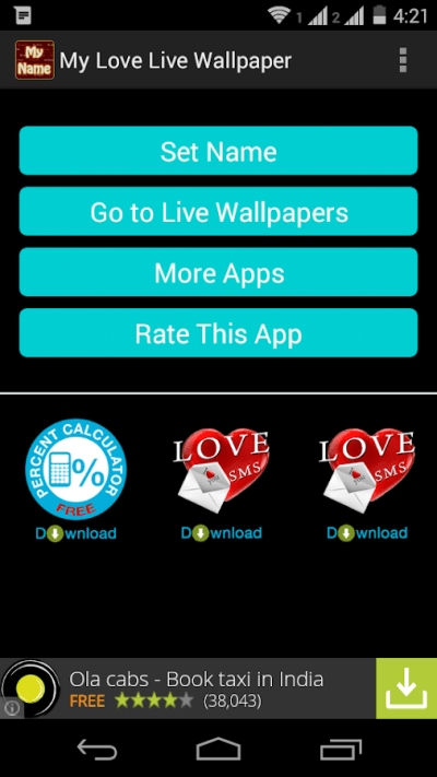 Love Names Live Wallpaper - Android Apps on Google Play