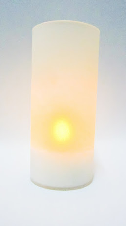 Frosted Tea Light Candle Holder Party Event Hire Fiji