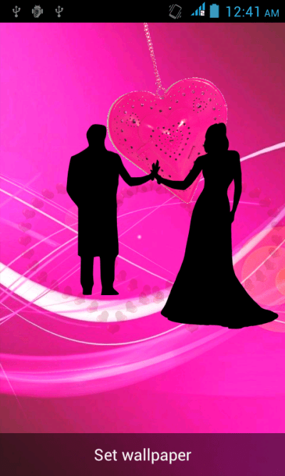 Romantic Live Wallpaper - Android Apps on Google Play