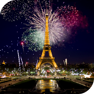 Android 3d Engine Live Wallpaper Fireworks In Paris Wallpaper Android Apps On Google Play