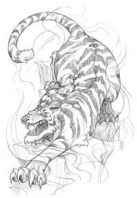 Tiger Tattoo Design Wallpaper