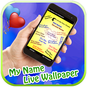 My Name Live Wallpaper for Android