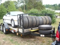 Made a tire rack for my utility trailer - MR2 Owners Club ...