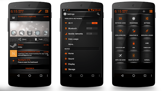 Cm Launcher 3d Wallpaper Apk Download Download Orange Fire Theme Cm11 Aosp Pa Apk On Pc