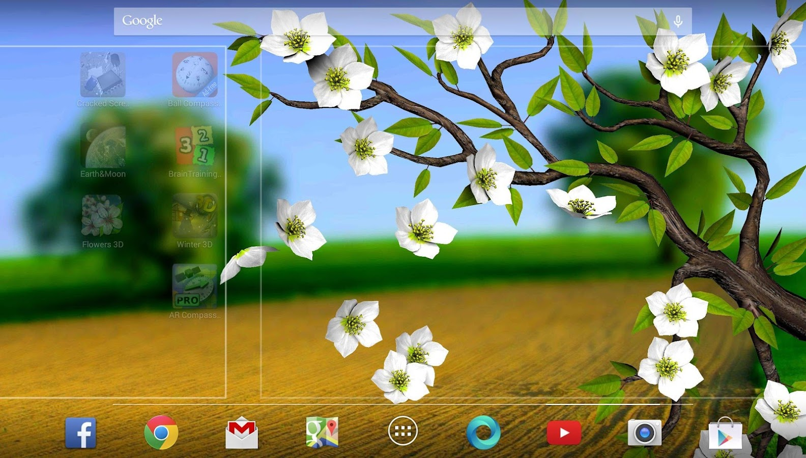Parallax 3d Effect Wallpaper Pro Spring Flowers 3d Parallax Pro Android Apps On Google Play
