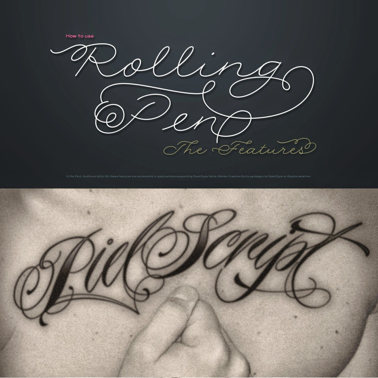 Calligraphy Tattoo Picture Tattoo Fonts Free Calligraphy Note Mamos