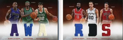 12/13 Panini Preferred Awards Book Card