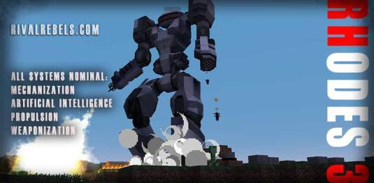 Rhodes 3 Boss mob Minecraft