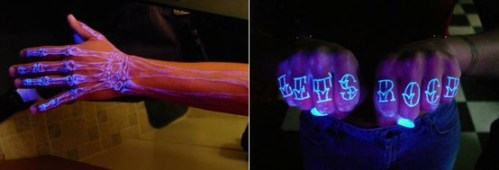 black light uv tattoos
