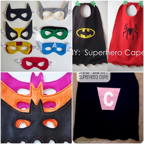 Superhrdina maska na karneval