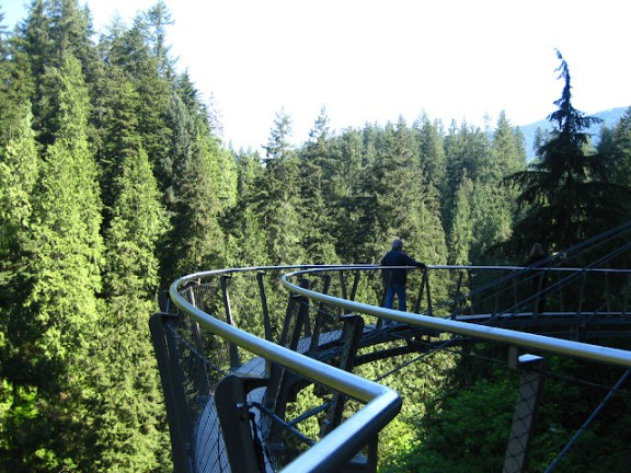 Capilano Suspension Bridge cliff walk experience