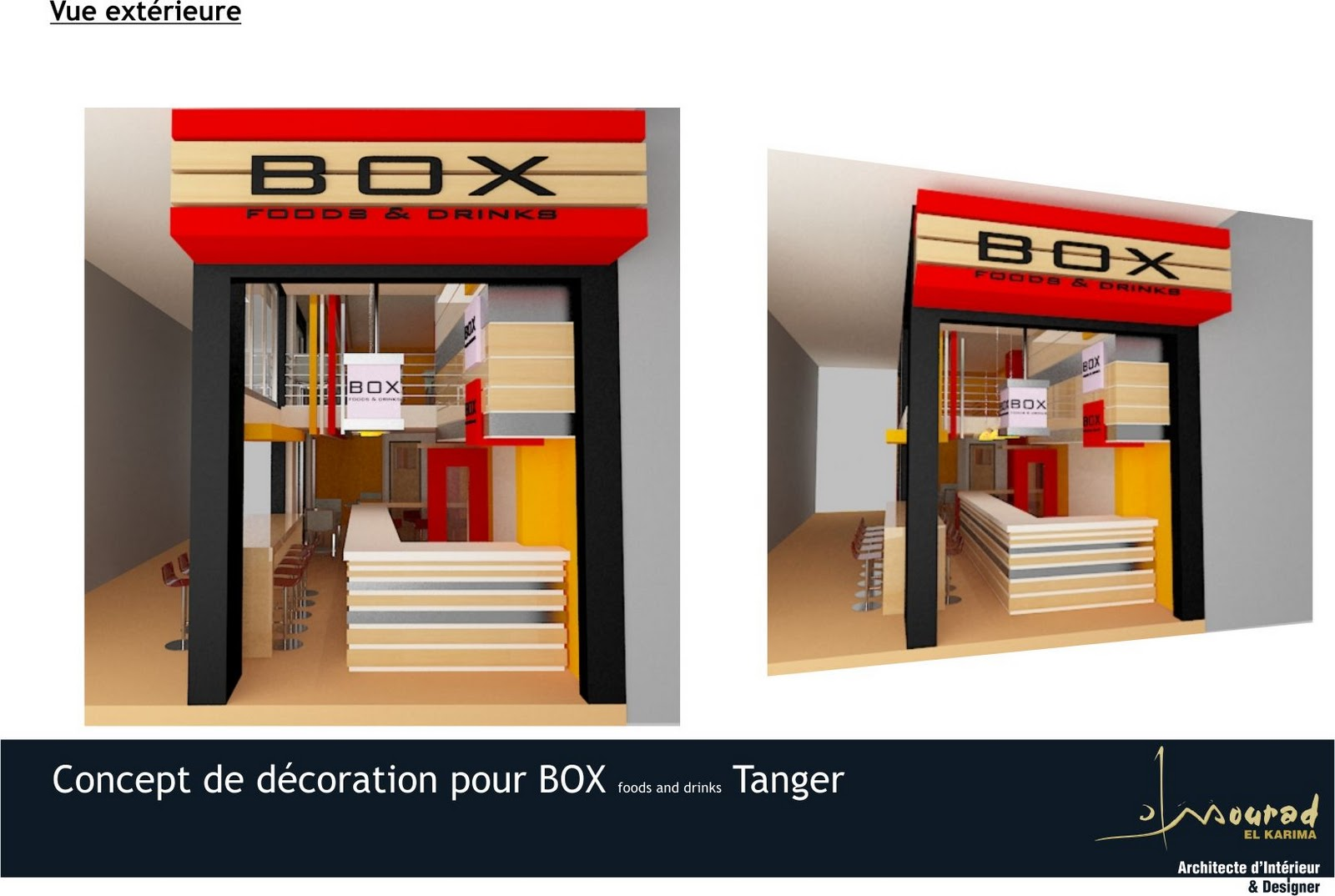 Decoration D'interieur Tanger Relooking Pour Un Box Foods Drinks Tanger Mourad El